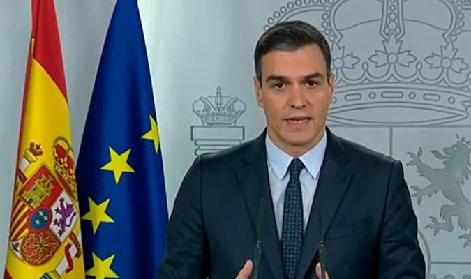 Sánchez confirma la ampliación del estado de alarma hasta el 11 de abril