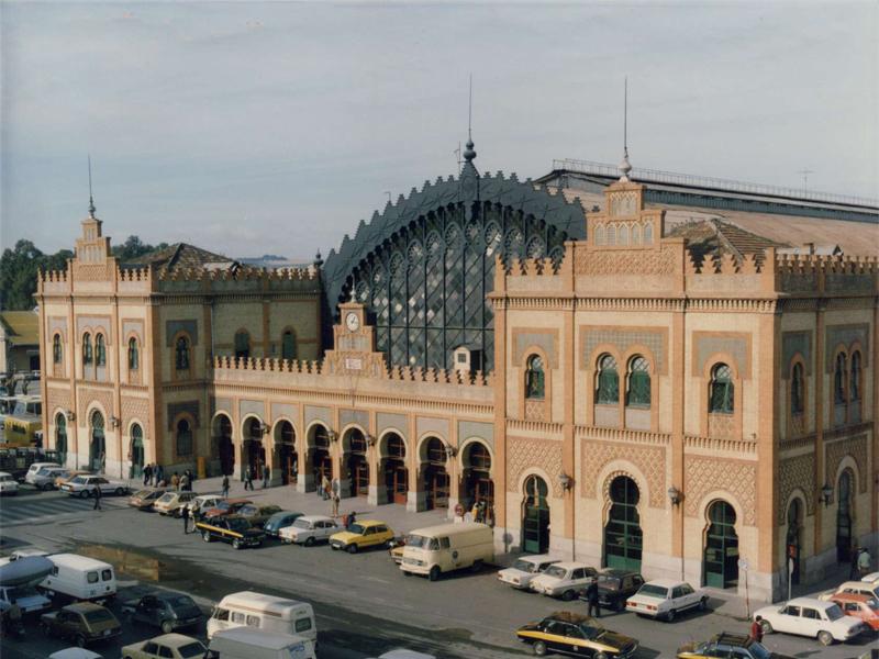 18 de Marzo de 1901: inauguración de la estación de Plaza de Armas