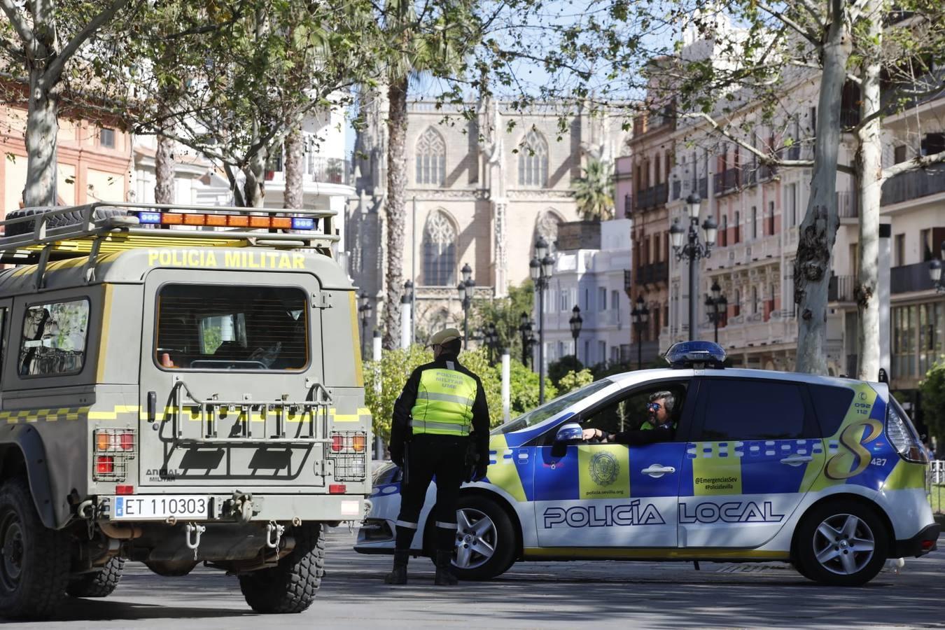 66 Denuncias más en Sevilla por incumplir la cuarentena