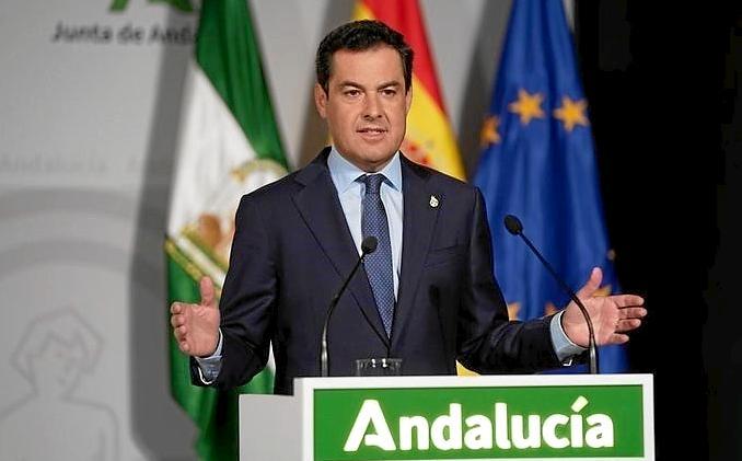 Comparecencia del Presidente de la Junta tras la reunión telemática con Pedro Sánchez