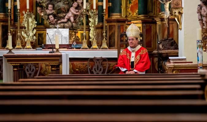 Misas sin fieles y procesiones virtuales en un atípico Domingo de Ramos