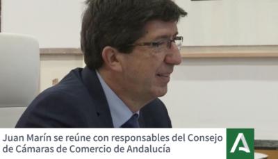 Marín destaca la colaboración de las cámaras de comercio para abordar el nuevo modelo turístico tras la crisis sanitaria