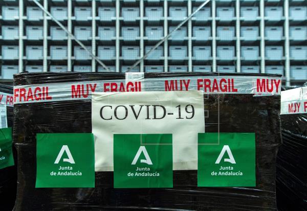 Andalucía alcanza los 6.972 casos de coronavirus, con 343 fallecidos