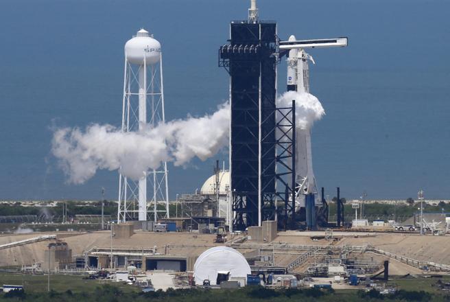 El histórico despegue del cohete SpaceX