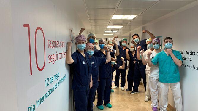 Sevilla celebra el Día de la Enfermería en plena operación de desescalada