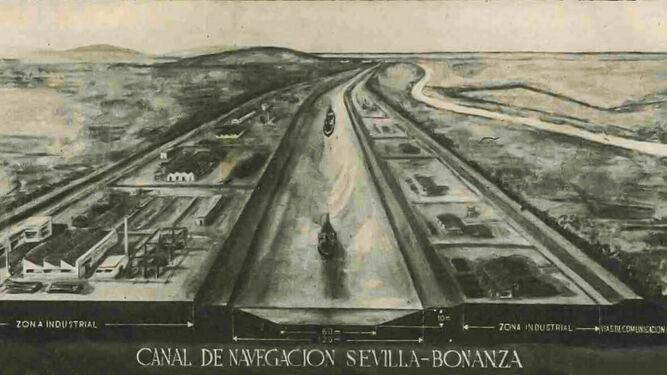 Canal Sevilla-Bonanza: cuando la esperanza se queda en la maqueta