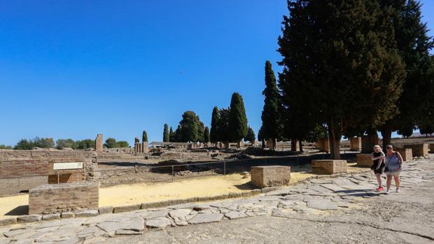 Un donante anónimo pagará la campaña para la candidatura de Itálica a Patrimonio Mundial