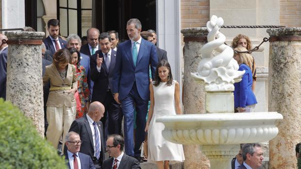 Así será la visita de los Reyes a Sevilla este lunes