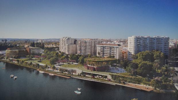 La orilla derecha del río Guadalquivir será la nueva zona de ocio de Sevilla