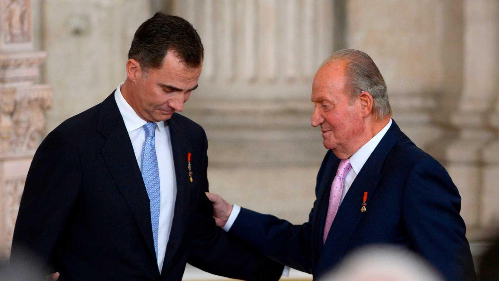 El Rey Juan Carlos I se va fuera de España
