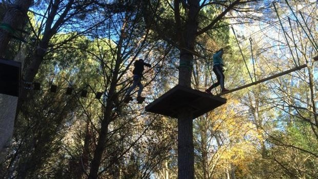 Parque Aventura Sierra Norte de Sevilla, diversión para toda la familia