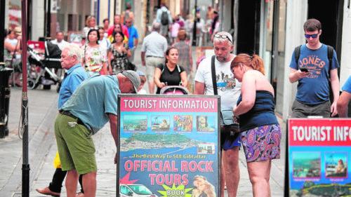 La llegada de turistas británicos a España por Gibraltar también se desploma