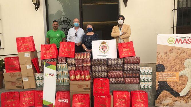 Fundación MAS logra 300.000 kilos de alimentos para las familias más necesitadas
