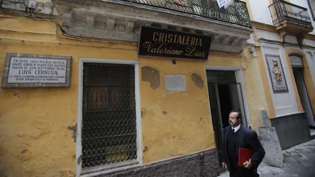 Aparecen tres proyectiles de la Guerra Civil en la casa natal de Luis Cernuda