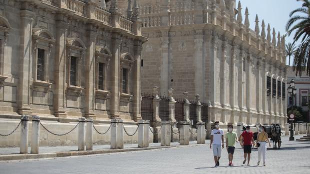El coronavirus provoca la mayor caída de la historia del empleo en el sector turístico de Sevilla