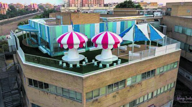 'Tu casa azul', un hogar para alojar en Sevilla a familias con hijos enfermos