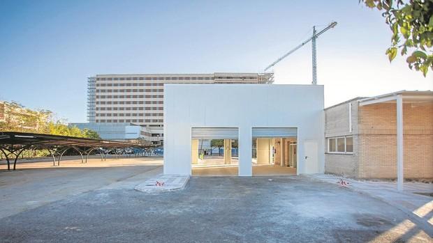 El Hospital Militar de Sevilla abre una nueva estación Covid que podrá vacunar contra el coronavirus