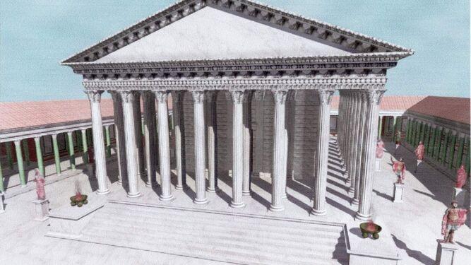 La recuperación del templo de Trajano condiciona la candidatura de Itálica a Patrimonio Mundial