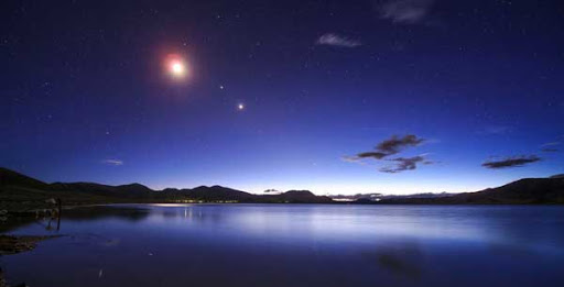 Encuentro de gigantes: así se puede ver hoy la gran conjunción de Júpiter y Saturno