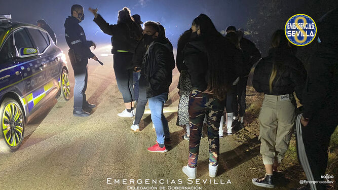 Desalojan una fiesta 'rave' en la antigua base militar del Parque Alcosa