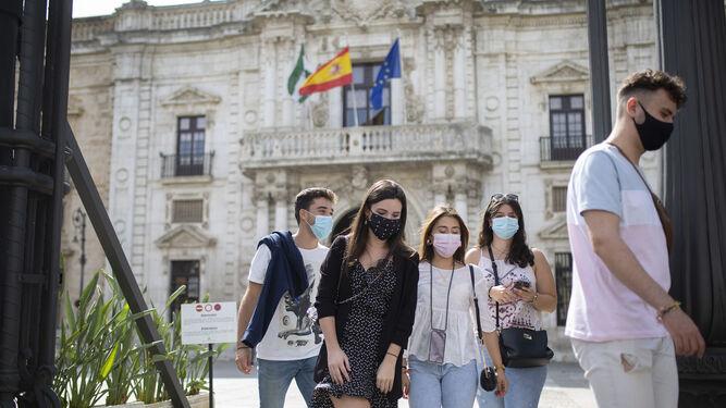 Los estudiantes de la US piden que los exámenes del primer cuatrimestre sean 'on line'