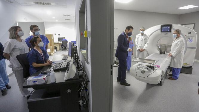 El Hospital Militar de Sevilla empieza a palpitar: siete pacientes Covid el día de su apertura