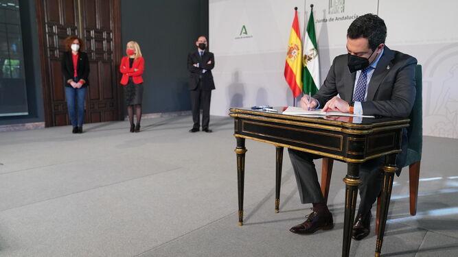 El Gobierno andaluz libera 732 millones de euros en ayudas directas para los sectores más afectados por la pandemia