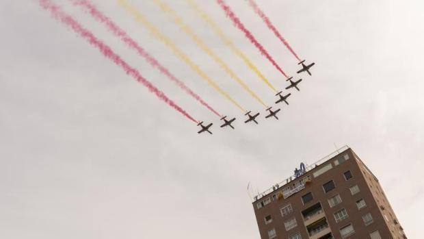 La Patrulla Águila sobrevolará Sevilla este miércoles de 'Feria'