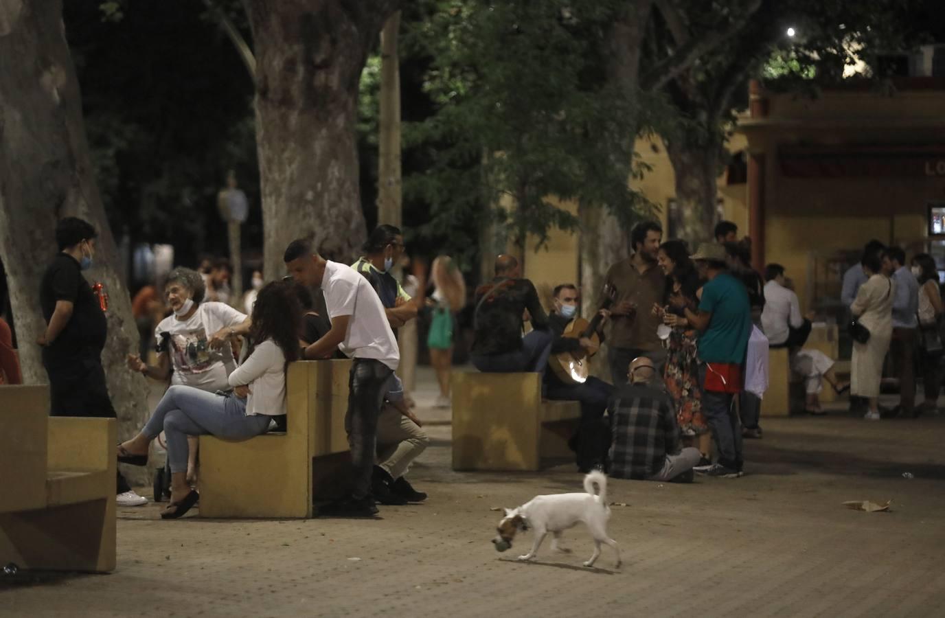 La Policía de Sevilla despliega un dispositivo para frenar los desmadres tras el fin del toque de queda