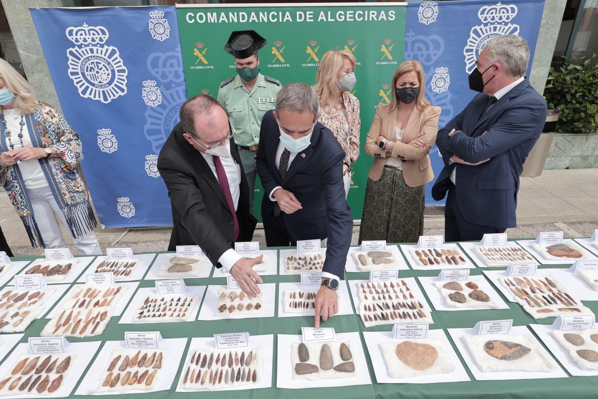 Los mil útiles prehistóricos ocultos en una casa de La Línea