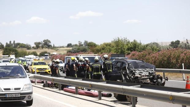 Accidente Córdoba | El siniestro mortal en la A-4 eleva a cuatro las mujeres muertas y una herida grave