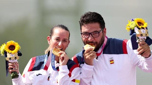 Alberto Fernández y Fátima Gálvez levantan el primer oro español en Tokio