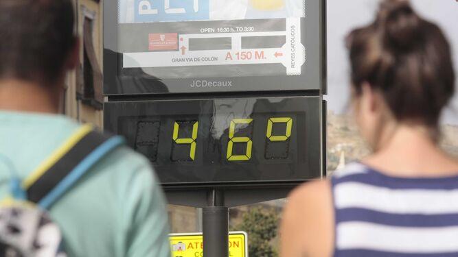 La ola de calor de esta semana dejará temperaturas superiores a los 45ºC en Andalucía