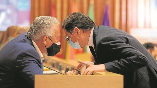 Ciudadanos rompe el pacto con Juan Espadas y el presupuesto queda en el aire